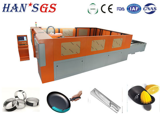 China 2000W 1500W Ipg Metal Fiber Laser Cutting Machine / CNC Pipe Cutting Machine factory