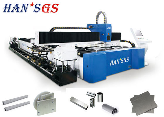 China 1KW 2KW 3KW Steel Pipe Cutting Machine Metal Sheet & Tube Laser Laser Cutter distributor
